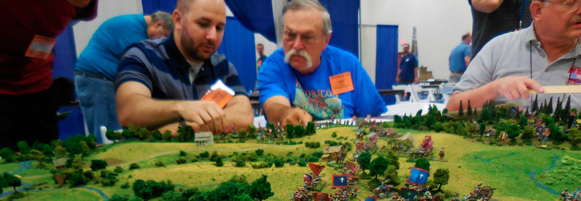 Employ authentic military tactics at your next convention or private game